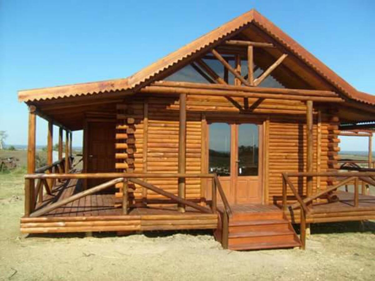 Imagenes de cabaas de madera great sala de estar de lujo de la cabaa de madera con el sof de - Feria de casas prefabricadas ...
