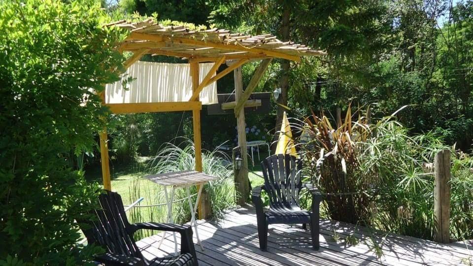 cabañas nontue delta tigre - jacuzzi en parque, a/c, cocina