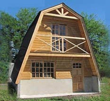 cabañas normandas - alpinashome - fabricacion/construccion