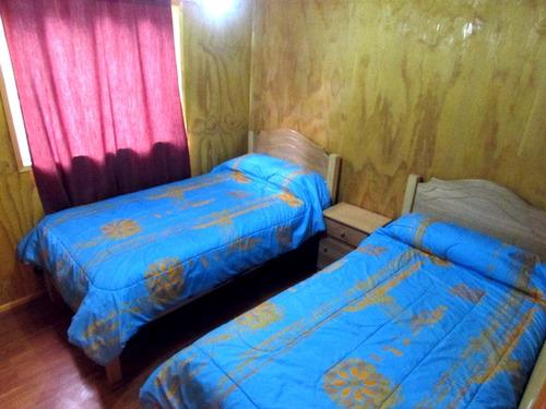 cabañas para 4 y 5 personas equipadas, campomar & lago