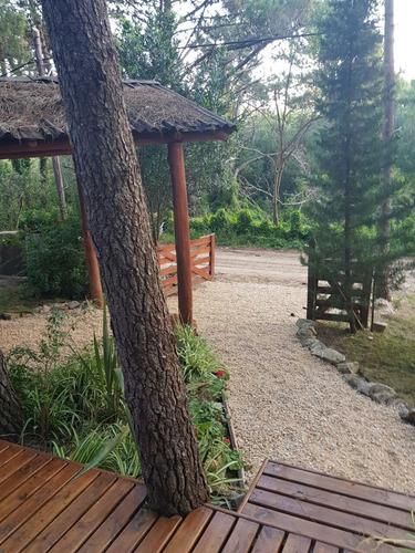 cabañas rincon del bosque,equipadas,cochera techada,parrilla