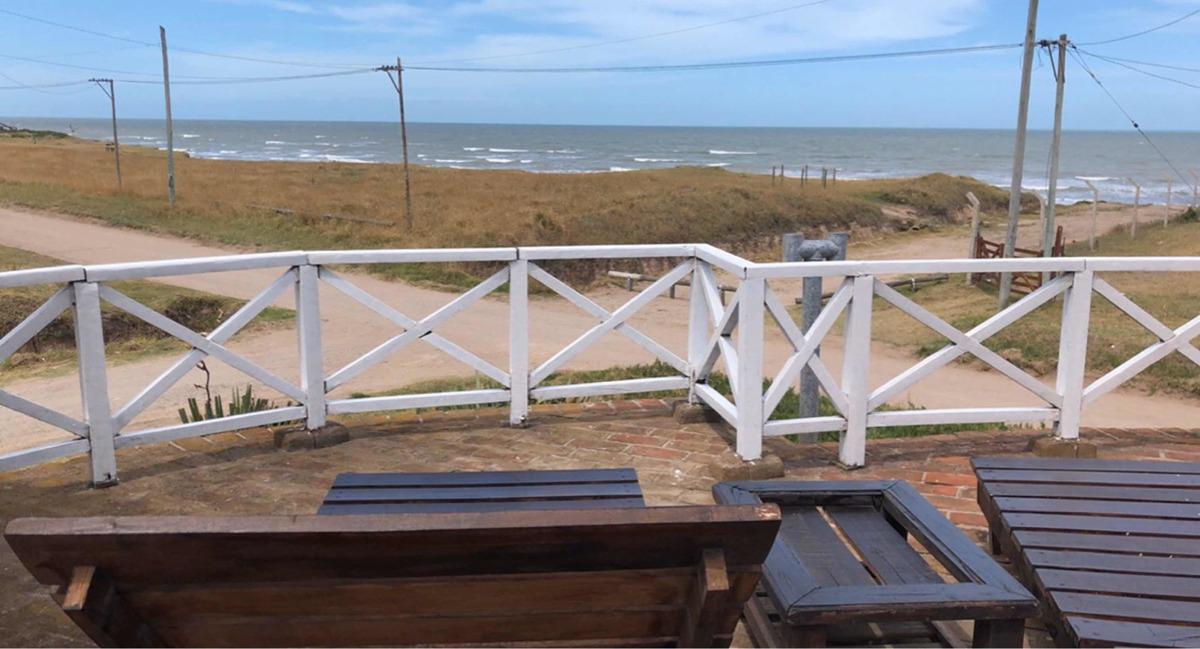 cabañas serafinas frente al mar!!!! camet-norte