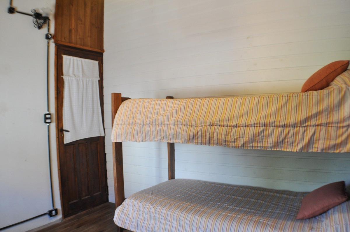 cabaña 3 ambientes - faro norte