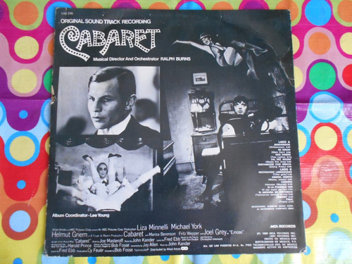 cabaret lp  liza minnelli soundtrack