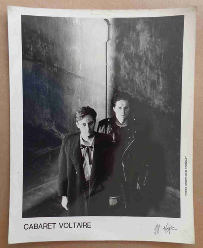 cabaret voltaire foto 20x25 cm p&b promo