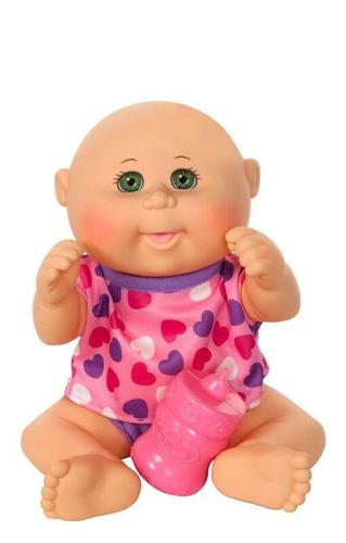 cabbage patch kids drink n wet newborn pijama corazones
