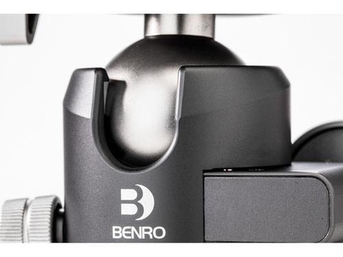 cabeça ball head panorâmica benro gx30 duplo pan low profile