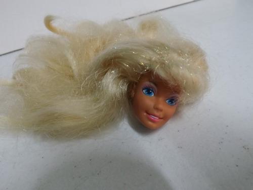 cabeça barbie estrela superstar feliz aniversário 1993