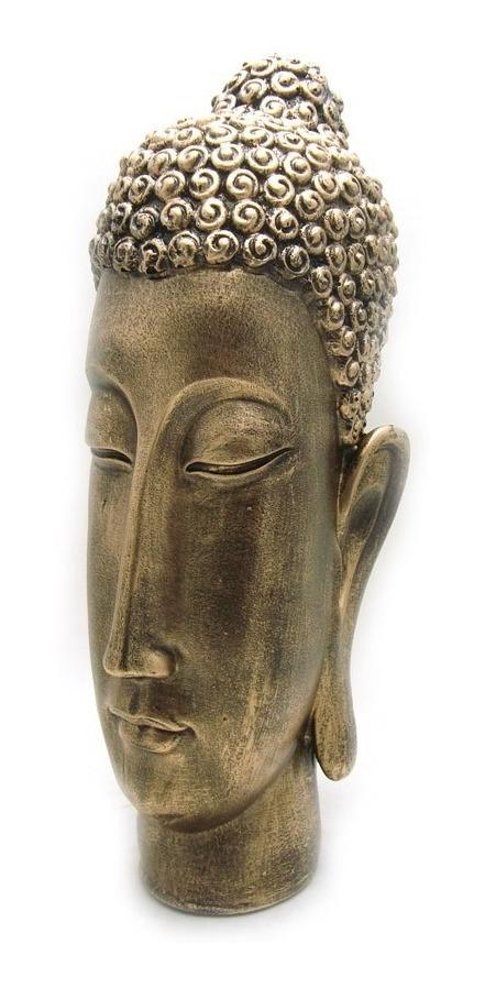 7a0e3e7571 Cabeça Buda Hindu Tailandes Tibetano Indiano Dourado - R$ 119,90 em ...