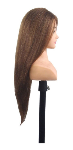 cabeça c ombro 80% natural 20% sintetica catanho claro