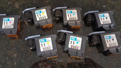 cabeça de impressão hp 11 (usadas)  ler descrição