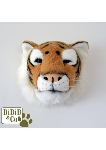 cabeça de tigre branco de parede wild soft¨