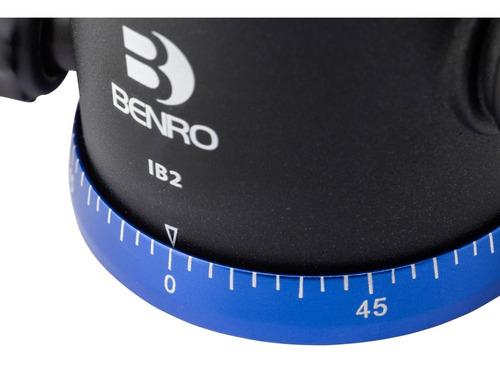 cabeça de tripé ball head benro ib0 p/ 6kg c/ engate rápido