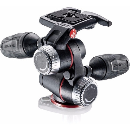 cabeça manfrotto  mhxpro-3w 3-way pan/tilt head modelo novo