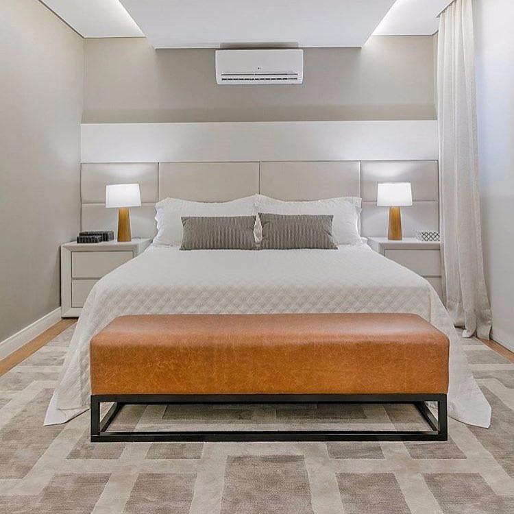 Cabeceira cama box 2 40cm x 80cm estofada m dulo painel - Modelo de camas ...