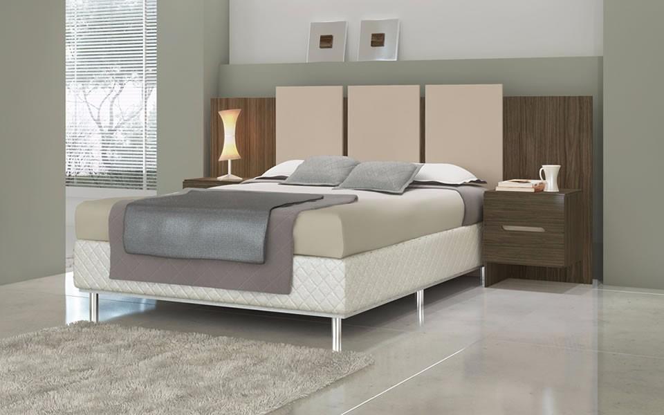Cabeceira de cama casal e queen size largura for Medidas camas americanas