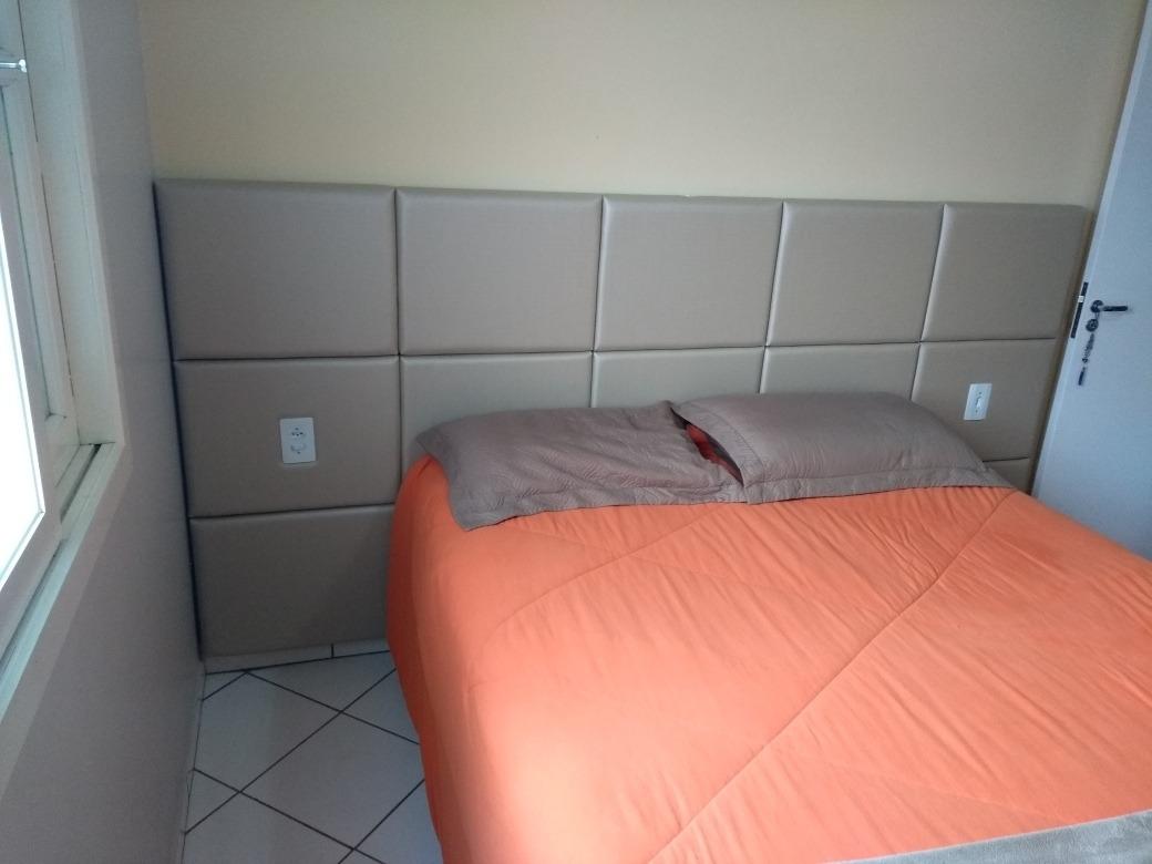 10d9804e0 cabeceira em módulos cama box estofada painel módulo 35x30cm. Carregando  zoom.