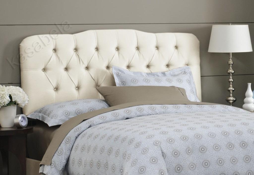 cabeceira encosto de cama king size largura 2 m fixo parede r 420 00 em mercado livre. Black Bedroom Furniture Sets. Home Design Ideas