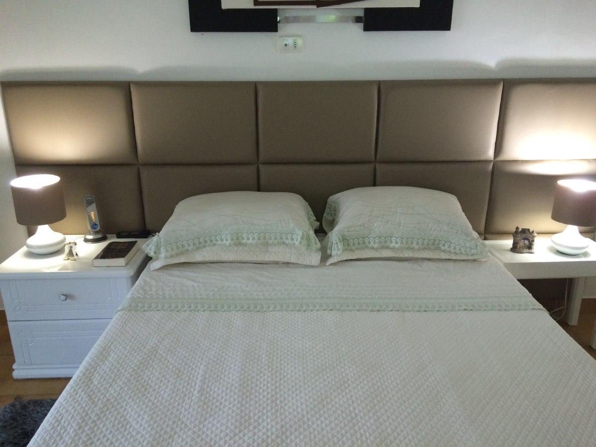 Cabeceira estofada cama box king 1 95 largura 0 70cm alt for Cama moderna 2018