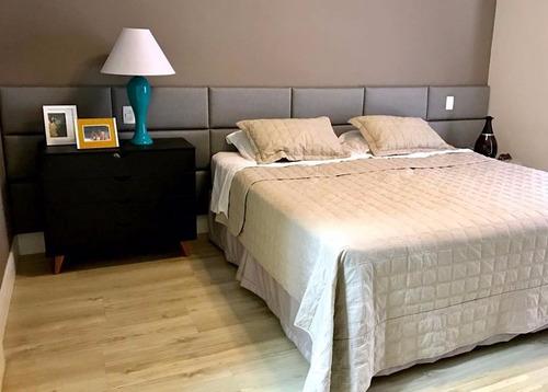 cabeceira estofada painel cama módulo unitário suede/veludo