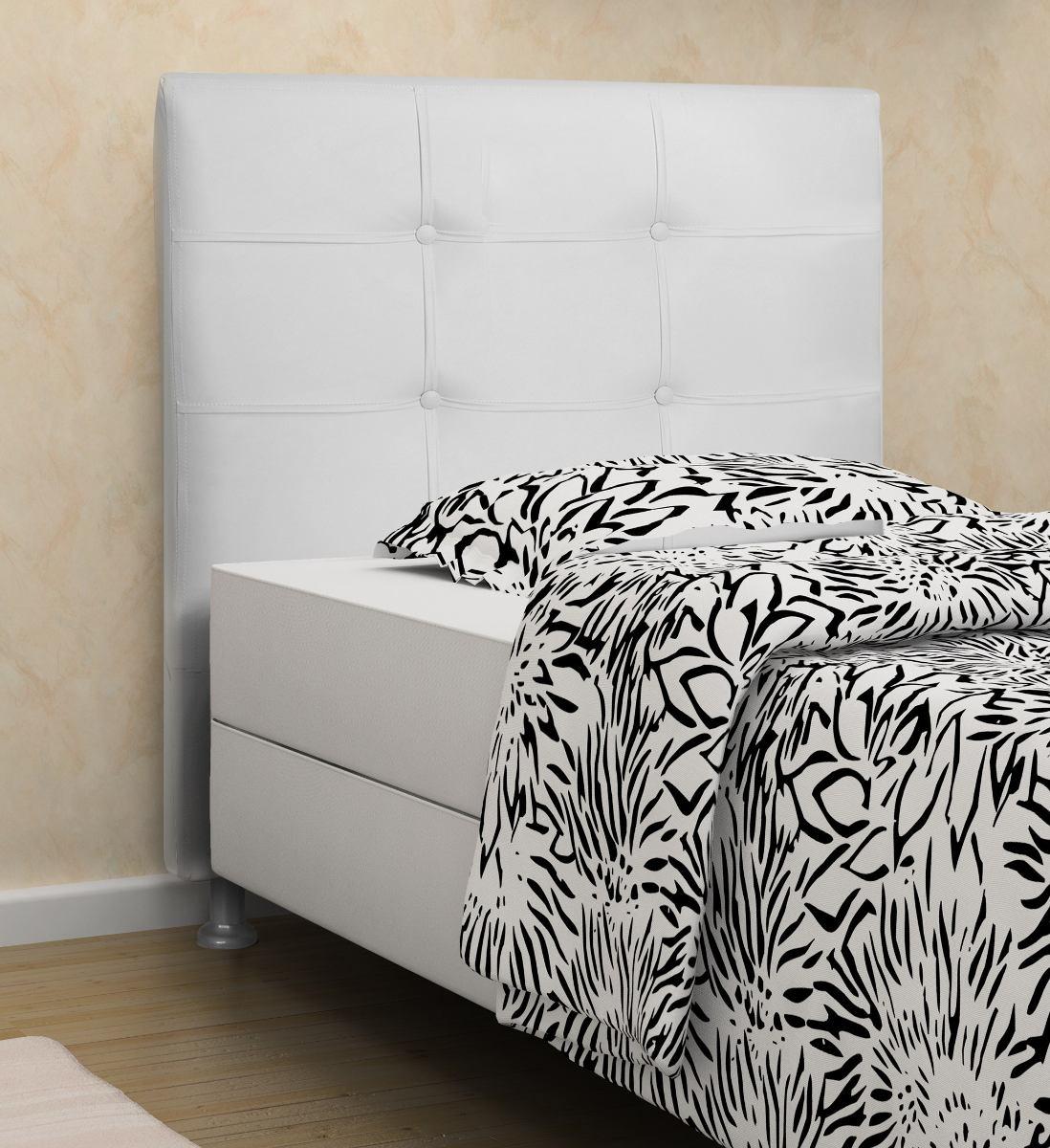ece2ec008 cabeceira hanover courino cama box solteiro branca. Carregando zoom.