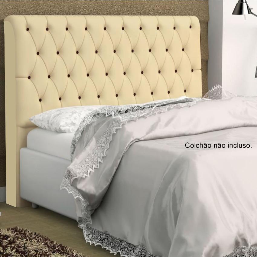 Cabeceira lady capiton para cama box queen size 186 cm for Imagenes de cama queen size