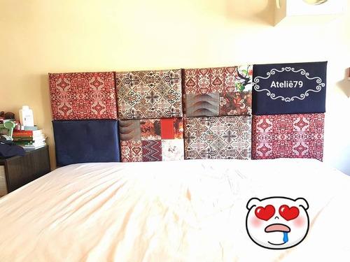 cabeceira painel cama box casal king