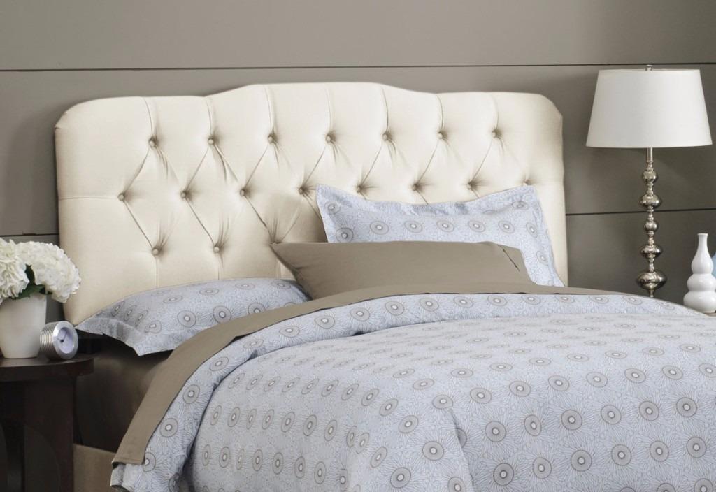 Cabeceira painel cama box casal queen king sob for Imagenes de cama queen size