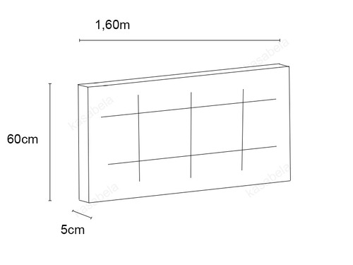 cabeceira painel de cama box queen  capitone fixo na parede