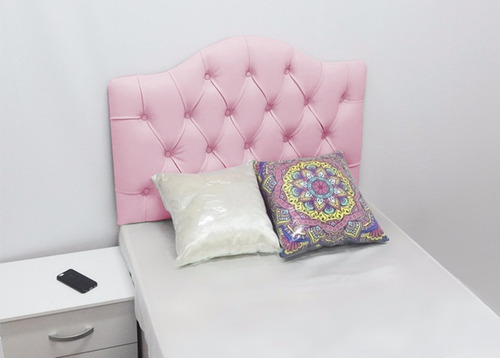 cabeceira painel estofada quarto solteiro cama 90cm