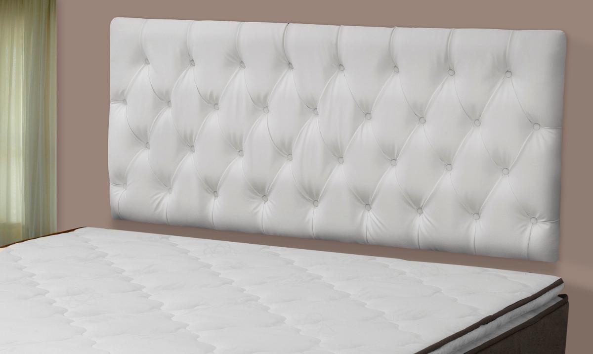 Cabeceira painel slim cama box casal 1 40 largura r 199 - Modelos de cojines para cama ...