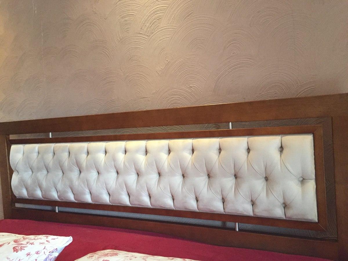 Cabeceira para cama box king size r 550 00 em mercado livre for Medidas para cama king size