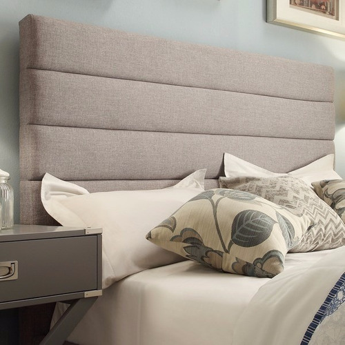 cabecera aérea tapizada para cama a medida