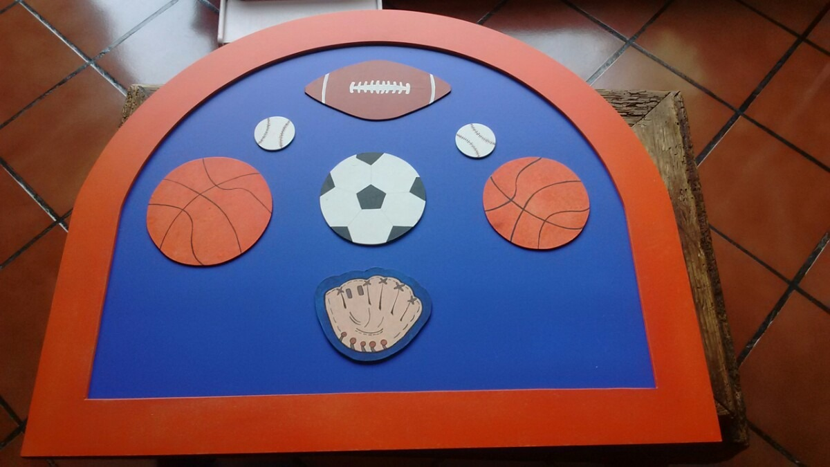 Cabecera individual ni o decorada balones futbol deportes for Cabecera individual infantil