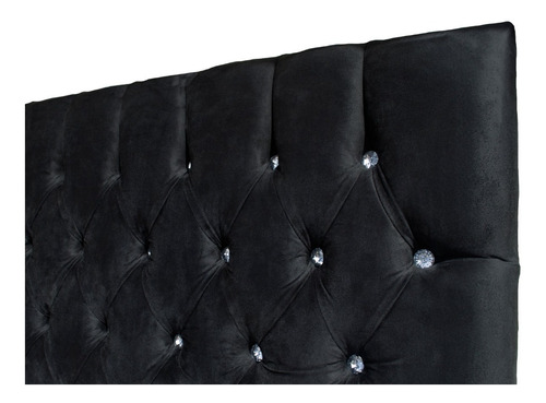 cabecera king size capitonada terciopelo respaldo para cama
