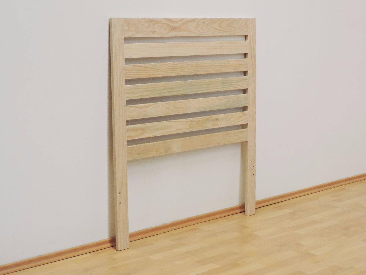 Cabecera para cama individual venecia sin pintar mueblesgm - Cabecera de cama ...