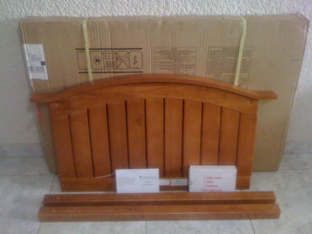 Cabecera para la cama del ni o o ni a muy linda - Cabeceras de cama de madera ...