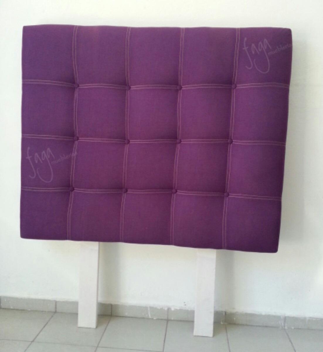 cabecera roja tapizada para cama queen size o matrimonial