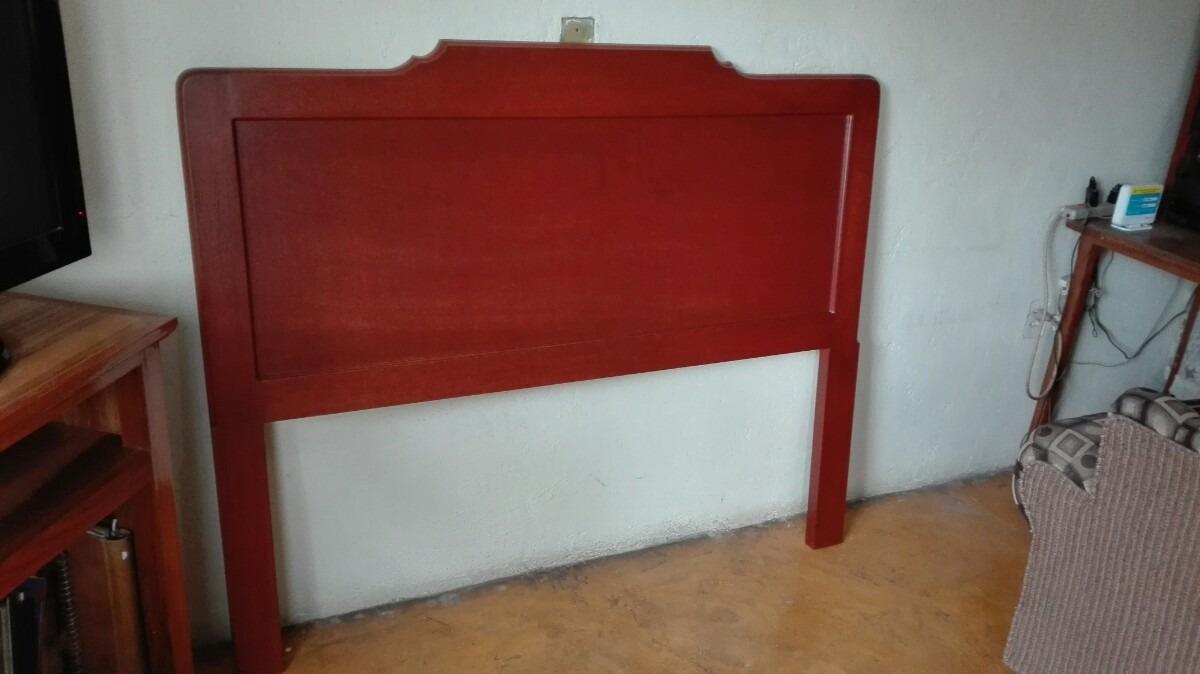Cabecera tama o queen size minimalistas madera de cedro for Cama queen size cuanto mide