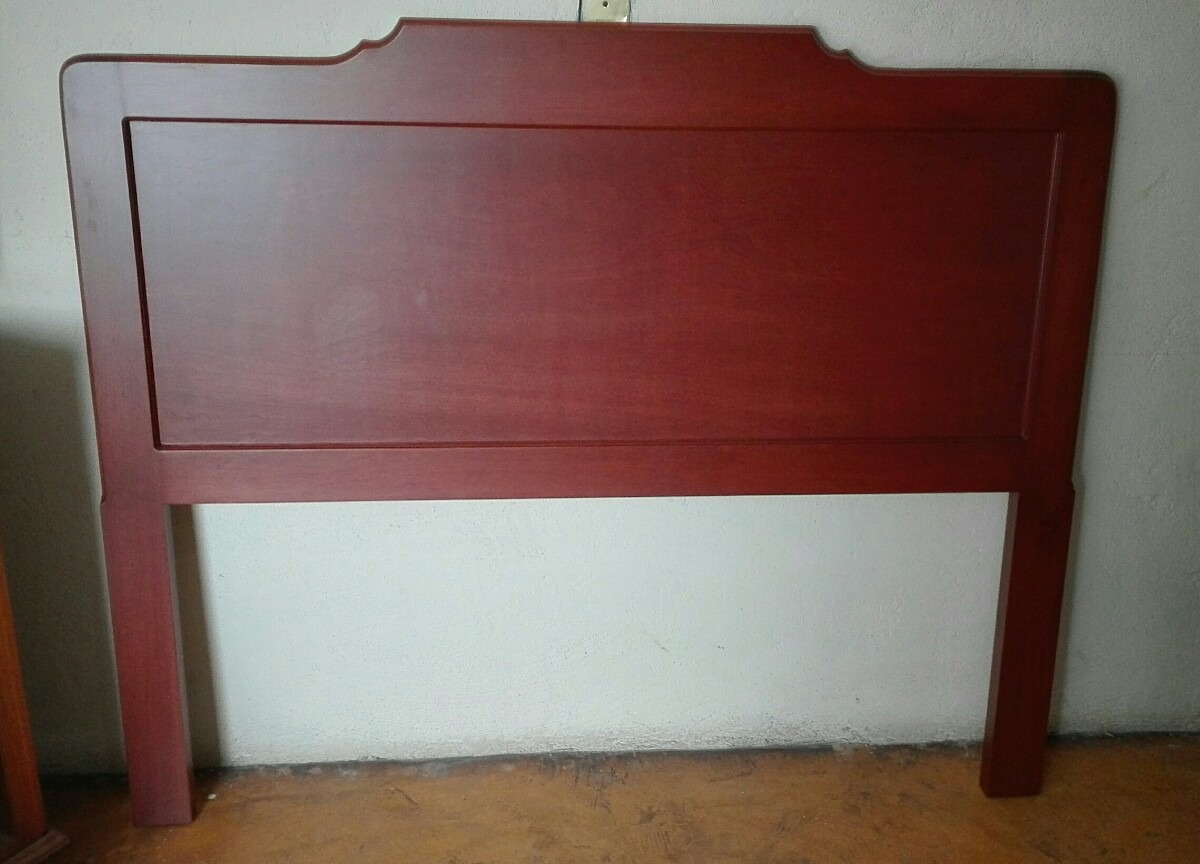 Cabecera tama o queen size minimalistas madera de cedro for Tamanos de camas en mexico