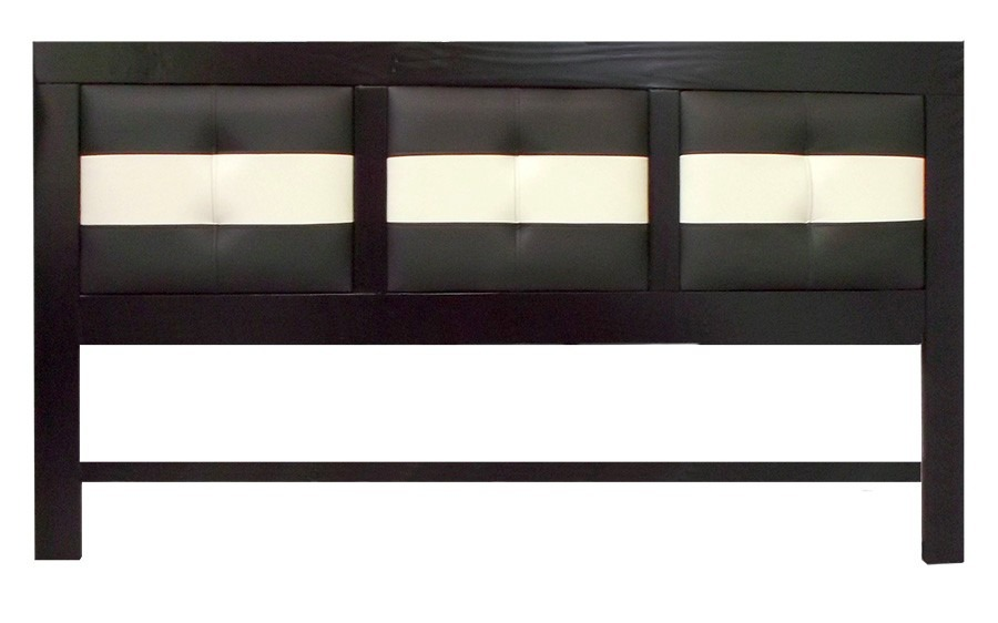 cabecera tapizada king size para recamara minimalista eg