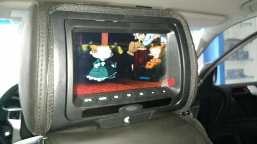 cabeceras con pantalla multinedia, dvd usb y juegos