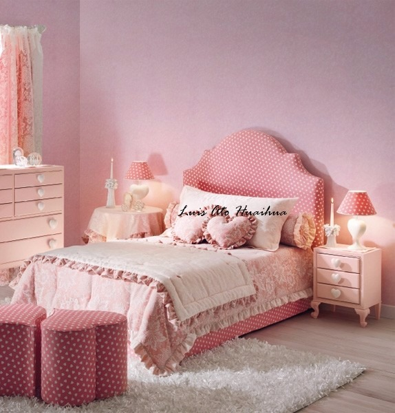 Cabeceras de cama para ni a mas de 100 modelos s 290 - Cama de princesa para nina ...