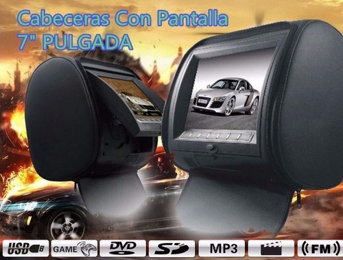 cabeceras dvd led full hd monitora y reproductora