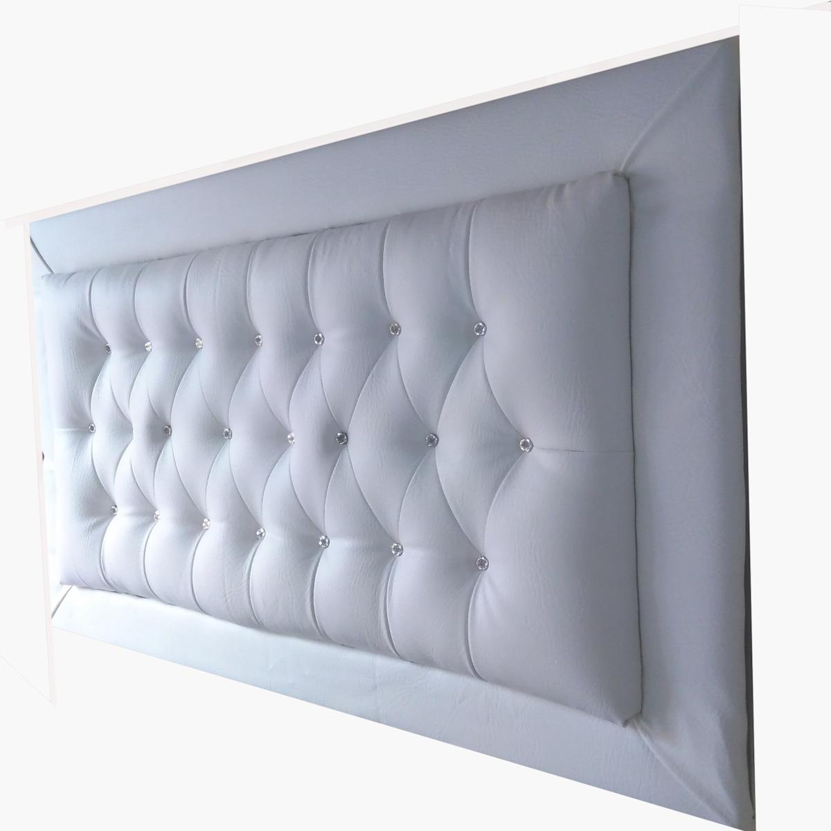 Cabecero espaldar para base cama medell n en mercado libre - Telas para cabeceros de cama ...
