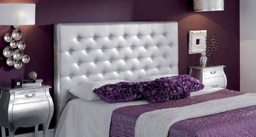 cabecero para base cama queen 160  todos los colores