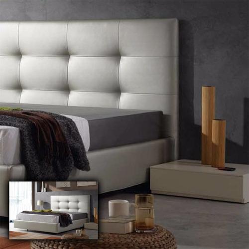 cabeceros espaldar tapizados para cama + obsequio 2 cojines