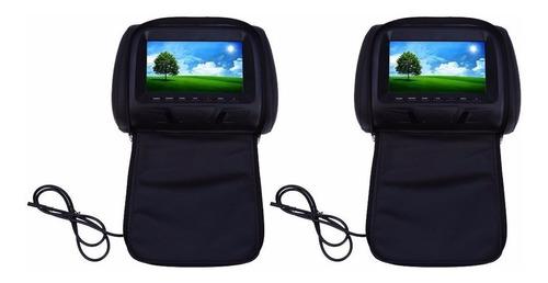 cabeceros pantallas 8 pulgadas cremallera control remoto