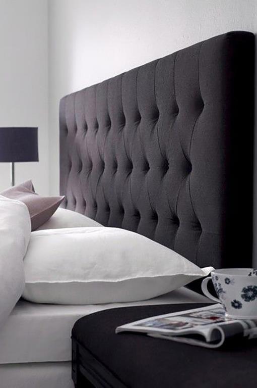 Cabeceros tapizados para base cama obsequio almohada for Cabeceros de cama tapizados