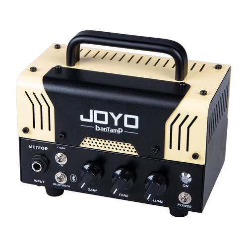cabeçote amplificador valvulado joyo tube amp bantamp meteor